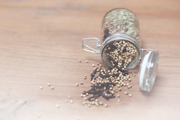 Spices-in-jar
